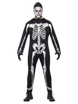 Men's Skeleton Jumpsuit Costume - The Halloween Spot