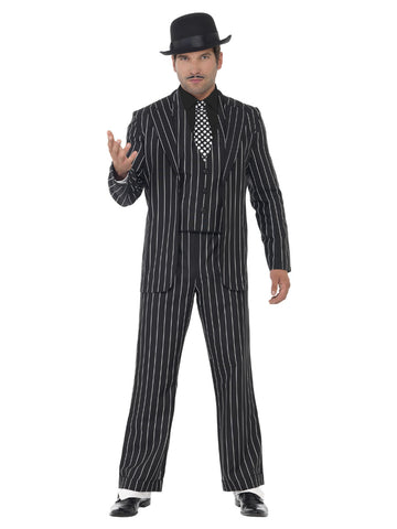 Men's Vintage Gangster Boss Costume