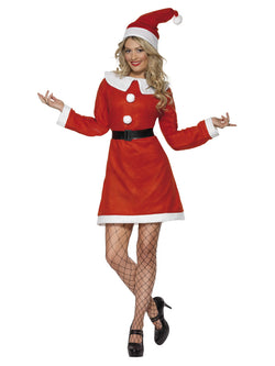 Red Miss Santa Costume
