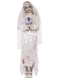 Women's Till Death Do Us Part Zombie Bride Costume