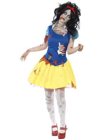 Women's Zombie Snow Fright Costume