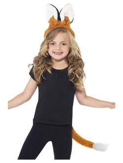 Unisex Brown Fox Kit for kids