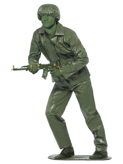 Toy Soldier Green coloured Costume