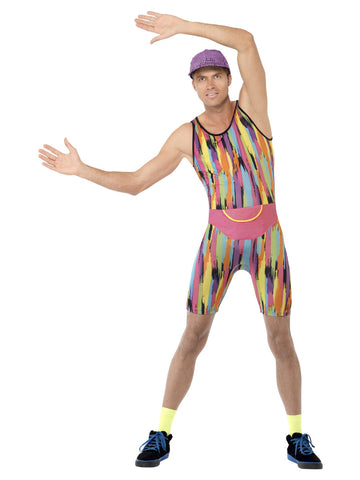 Men's Aerobics Instructor Costume