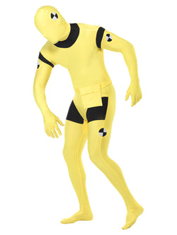 Unisex Second Skin Suit, Crash Dummy Costume - The Halloween Spot