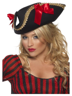 Women's Fever Pirate Hat black colour