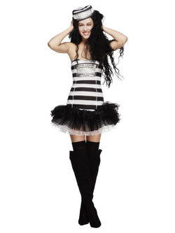 Women's Fever Convict Cutie Costume - The Halloween Spot