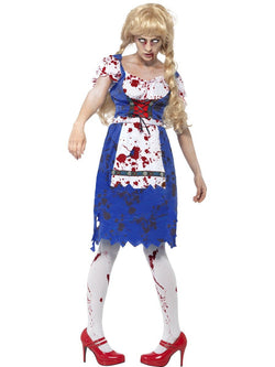 Women's Zombie Bavarian Female Costume Set