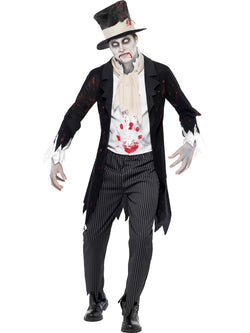 Men's Till Death Do Us Part Zombie Groom Costume - The Halloween Spot