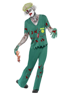 Men's Zombie Paramedic Costume - The Halloween Spot