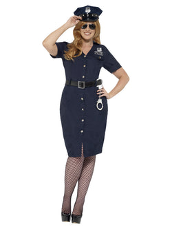 Women's Curves NYC Cop Costume - The Halloween Spot