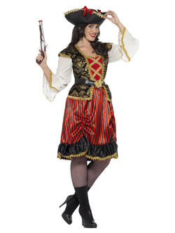 Women's Curves Pirate Lady Costume