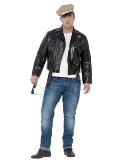 Men's Plus Size Curves 50s Rebel Costume