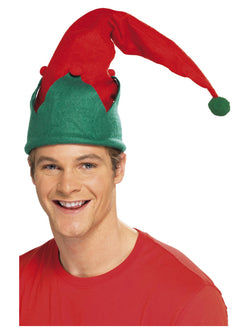 Red Elf Hat