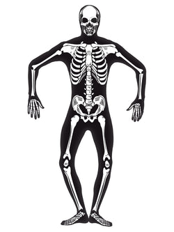 Men's Skeleton Second Skin Costume - The Halloween Spot
