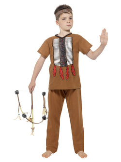 Boy's Native American Inspired Warrior Costume