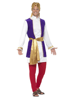 Men's Arabian Prince Multi-Coloured Costume
