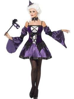 Women's Witch Masquerade Costume - The Halloween Spot