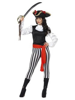 Black Pirate Lady Costume