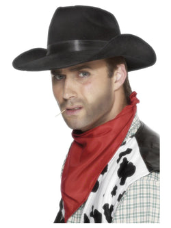 Indestructible Black Cowboy Hat
