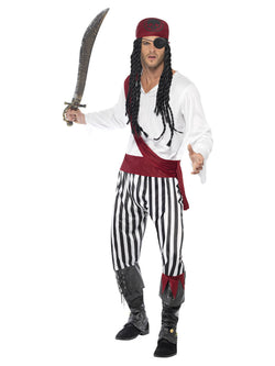 Men's Pirate Man Costume - The Halloween Spot