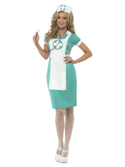 Women's Scrub Nurse Costume - The Halloween Spot