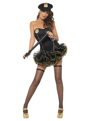 Women's Fever Tutu Police Costume