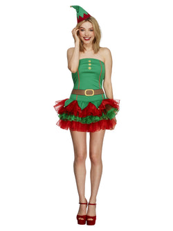 Women's Fever Elf Costume