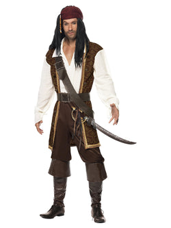 Men's High Seas Pirate Costume - The Halloween Spot