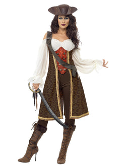 Women's High Seas Pirate Wench Costume - The Halloween Spot