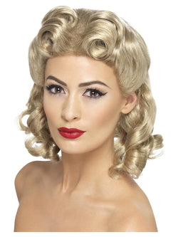 Smiffy's 40s Sweetheart Wig - The Halloween Spot