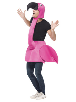 Smiffy's Flamingo Costume - The Halloween Spot