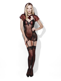 Fever Miss Red Storybook Lingerie
