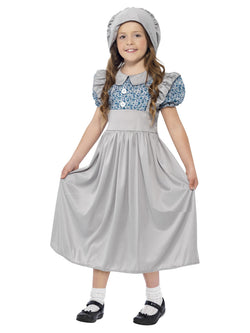 Girl's Victorian School Girl Costume