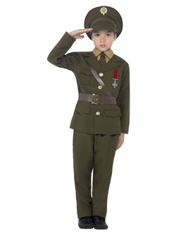 Boy's Army Officer Costume - The Halloween Spot