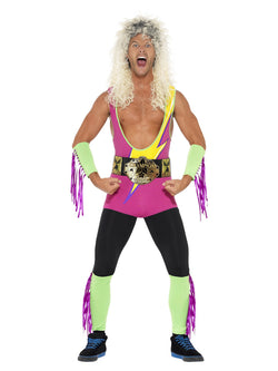 Men's Retro Wrestler Costume