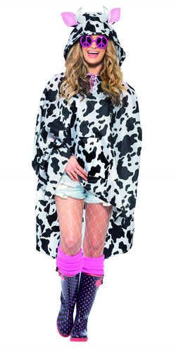 Cow Party Poncho - The Halloween Spot
