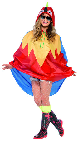 Parrot Party Poncho - The Halloween Spot
