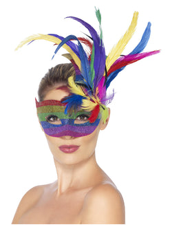 Carnival Rainbow coloured Eyemask