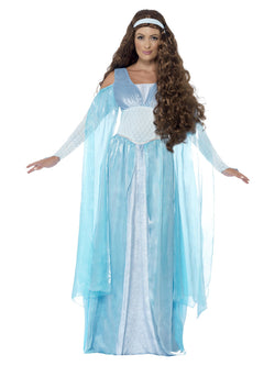 Women's Plus Size Medieval Maiden Deluxe Costume