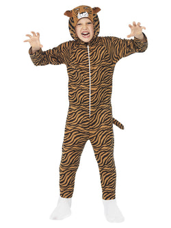 Boy's Brown Colour Tiger Costume