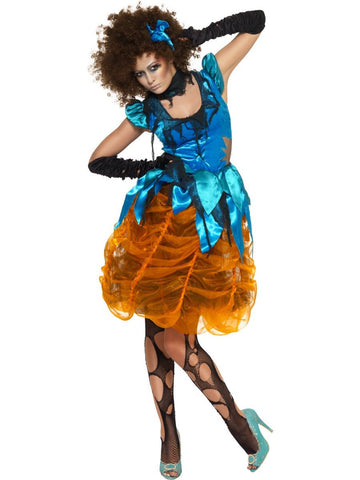 Women's Killerella Blue Costume Set