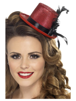 Red Colour Mini Tophat