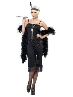 Women's Flapper Costume with sash - The Halloween Spot