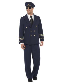 Men's Pilot Costume - The Halloween Spot