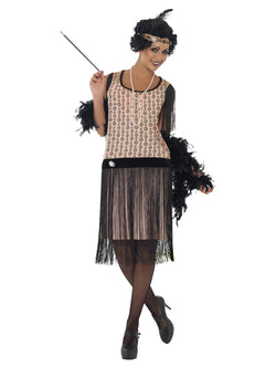 Women's 1920s Coco Flapper Costume - The Halloween Spot