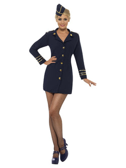 Women's Flight Attendant Costume