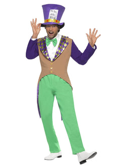 Men's Mad Hatter Costume, Adult