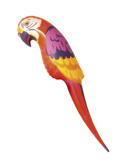 Red, Orange and Yellow Parrot