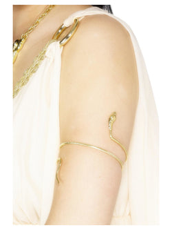 Gold Snake design Egyptian Bracelet